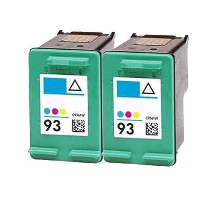 ocproducts refilled HP 93 Recambio de Cartucho de Tinta para ...