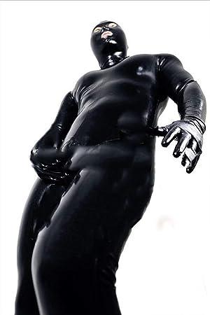 Unisex Sexy Wet Look Disfraz De Gato para Mujer Cosplay Catsuit Mono De  Cuero De Patente dbcb911ec6f0