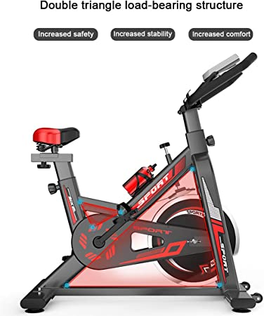 NYPB Bicicleta de Spinning, Professional Exercise Bike Asiento ...