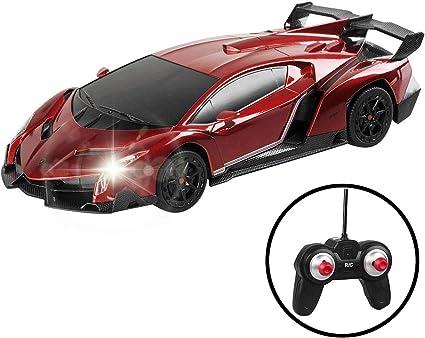 Hobbies Remote App Controlled Vehicles Fmt 1 24 Scale Lamborghini Veneno Car Radio Remote Control Sport Racing Car Rc Orange Cars Remote App Controlled Vehicles Parts
