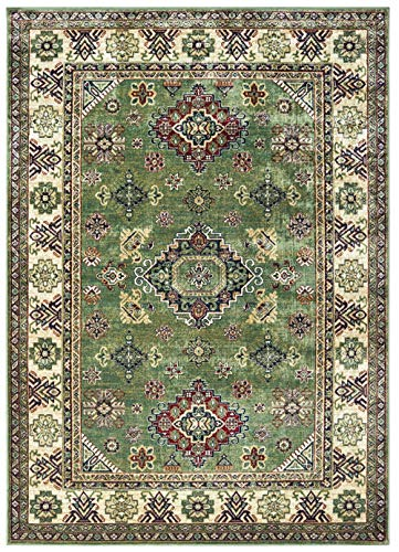 United Weavers Royalton Area Rug 853 10745 Richmond Green Jagged Cornered 2' 7