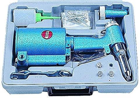 SUNTECH SG-0810K Sunmatch Power Angle Grinders, Blue - Air Riveter Gun