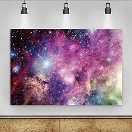 Yeele Fotohintergrund Mit Galaxie Motiv 2 7 X 1 8 M Kamera
