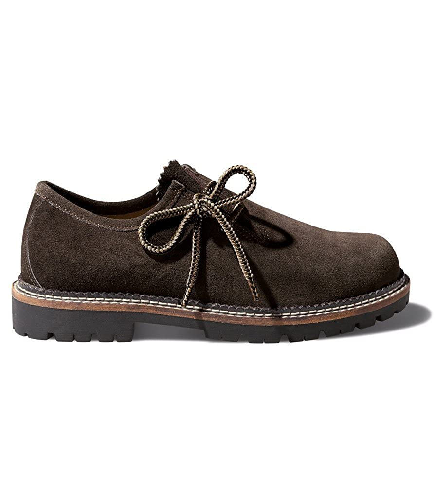 Stockerpoint 1224urigantik - Zapatos de cordones de Ante para hombre Marrón Urigantik 41 EU