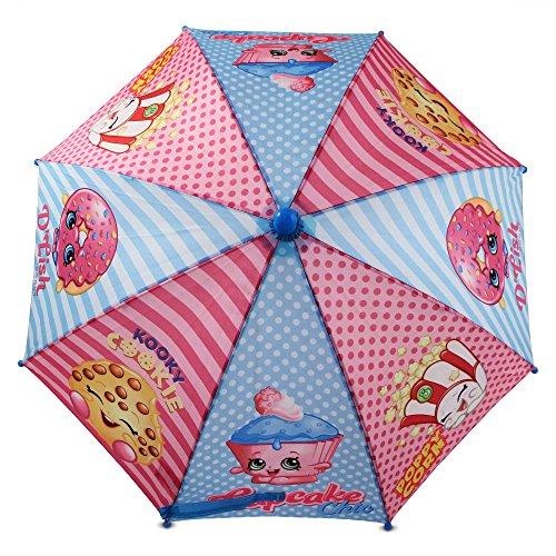 Shopkins Girls' Little Assorted Character Rainwear Umbrella, Blue/Pink, Age 3-7 by Shopkins (Image #5)