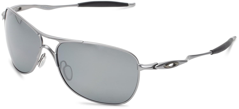 8612ba4037636 Amazon.com  Oakley Mens Crosshair OO4060-02 Iridium Non-Polarized Oval  Sunglasses