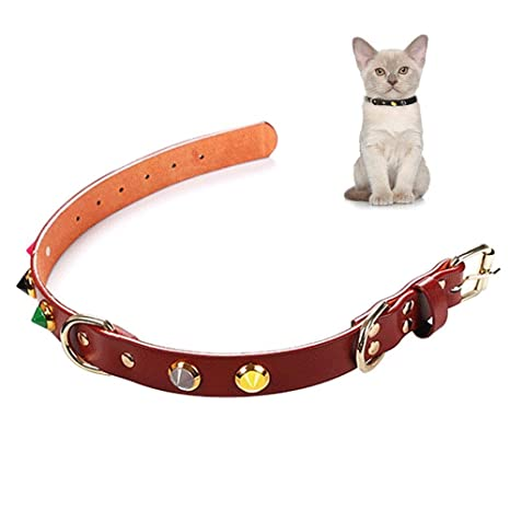 Aolvo - 2 collares para gatito / hurón / conejo / gato / cachorro extra pequeños