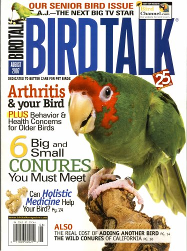 Bird Talk, August 2007 Issue ebook