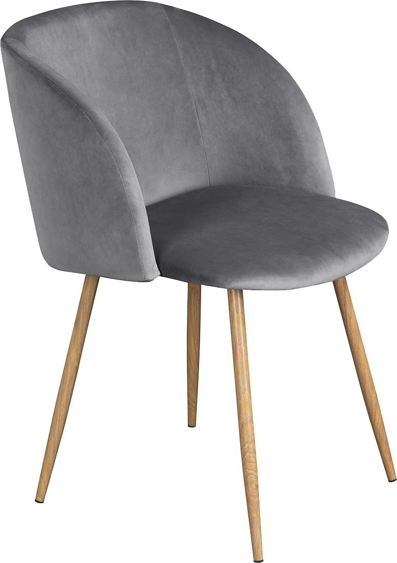 velvet chair x 2, Blue EGGREE Velvet Chairs Accent Chairs with Metal Chair legs