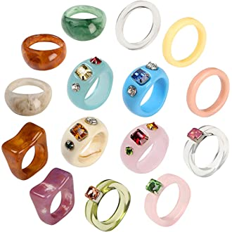 Flowers Ring \u2981 Wide Band for Women \u2981 Unique Womens Ring \u2981 Spinner Ring \u2981 Spinning Meditation Ring \u2981 Stainless Steel Ring \u2981 Statement Band