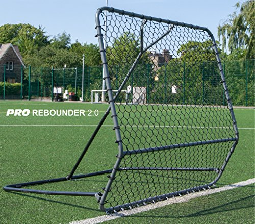 QUICKPLAY PRO Rebounder – 5 x 5' Soccer Rebounder with Adjustable Angle...