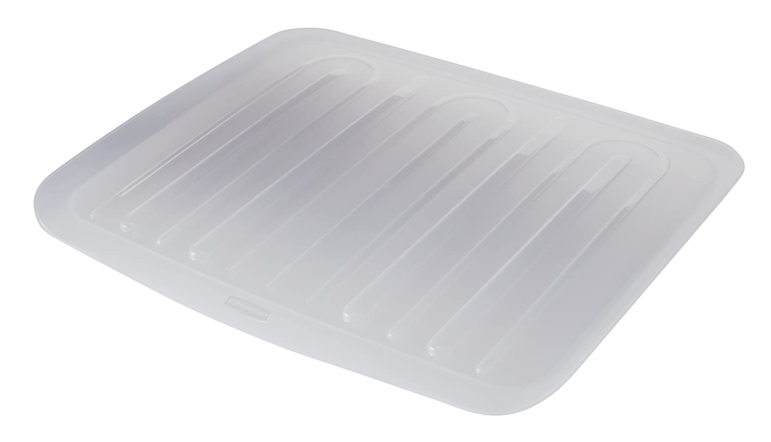 Rubbermaid Food Products FG1182MACLR Rubbermaid Antimicrobial Drain Board Large, Clear