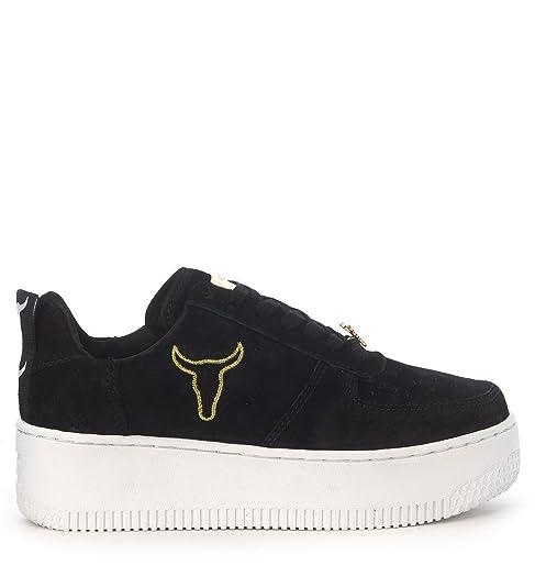 Camoscio Amazon it e Smith Nero Scarpe Windsor 38 borse Sneaker T4qO76