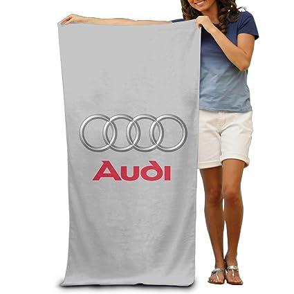 "mkcook Audi Logo toalla de playa para adultos/31.5 "" ..."