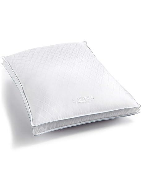 869a844cf4a Amazon.com: Lauren Ralph Lauren Winston Bed Pillow, Extra Firm ...