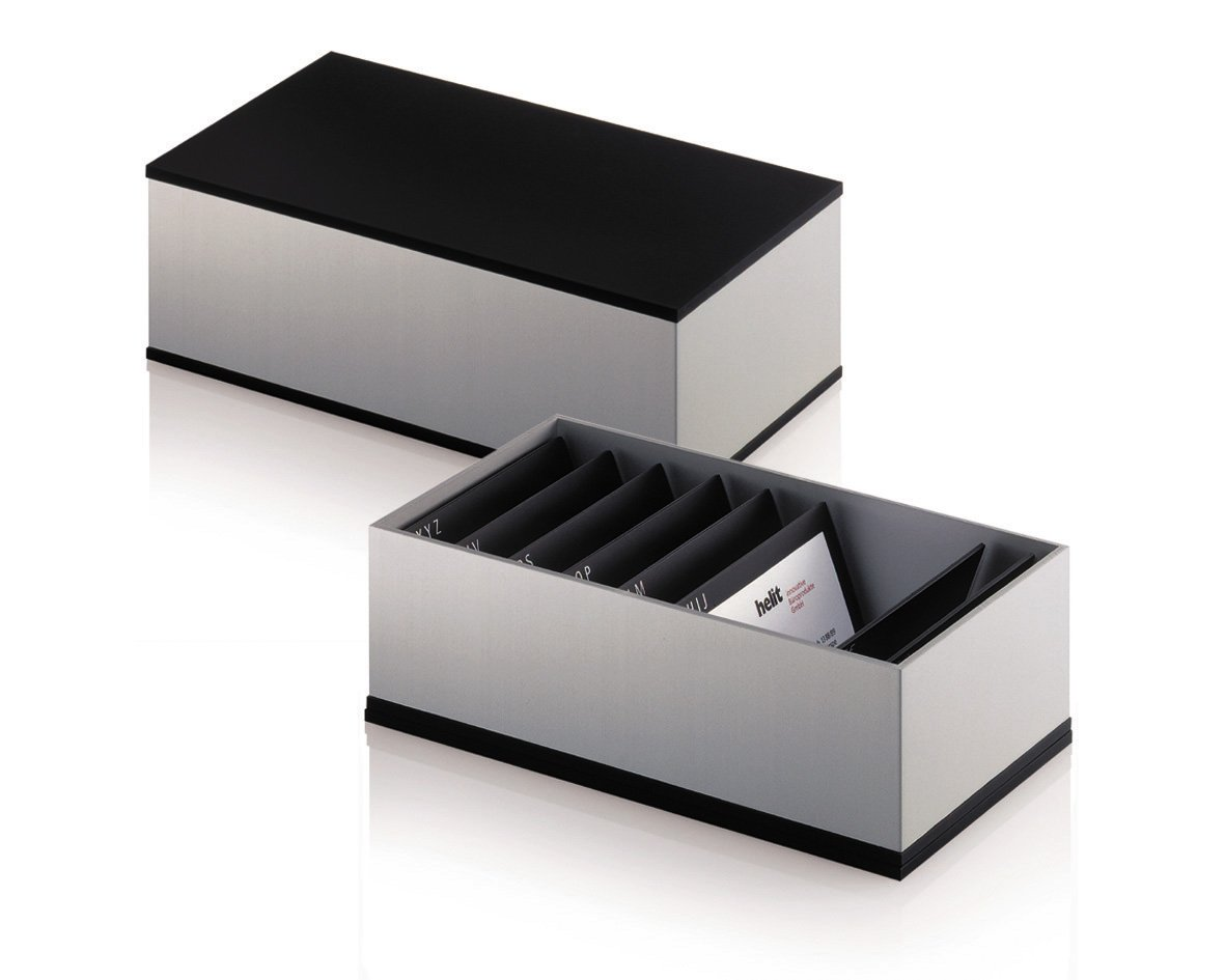 Helit by foster business card box amazon office products reheart Images