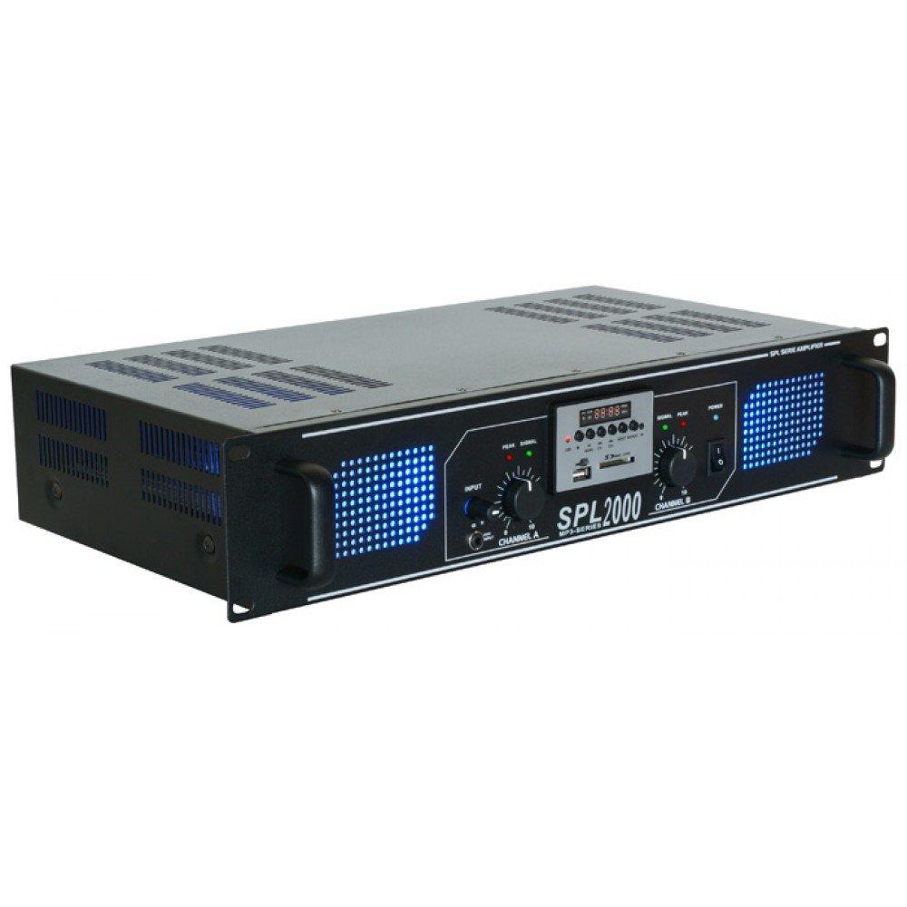 Skytec SPL 2000MP3 2.0canali Cablato Nero amplificatore audio 178.774