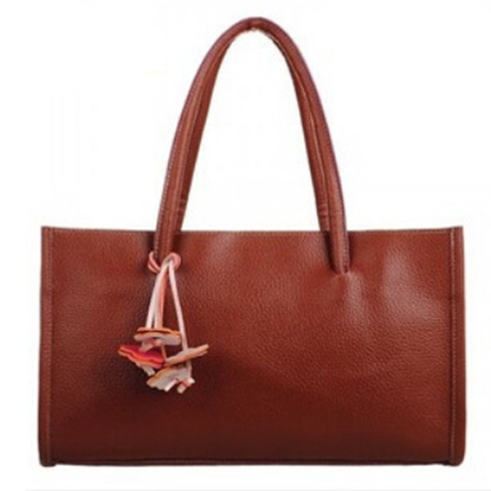 Meolin Women Fashion Handbags Top-Handle Shoulder Bags Faux Leather Purse,PU,.