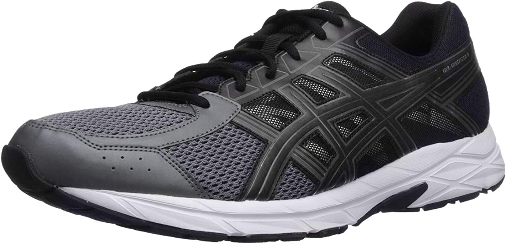 Asics Running Gel Contend 4, Zapatillas de Deporte para Hombre, Gris (Carbon/Silver/Rose Shocking Orange 9793), 44.5 EU: Amazon.es: Zapatos y complementos