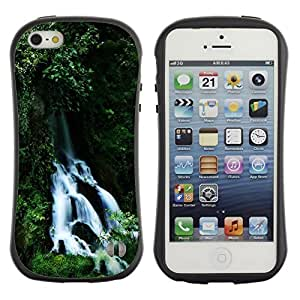 Suave TPU GEL Carcasa Funda Silicona Blando Estuche Caso de protección (para) Apple Iphone 5 / 5S / CECELL Phone case / / Waterfall /