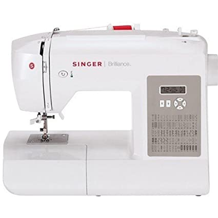 Singer sewing 6180 brilliance portable sewing machine whitegray singer sewing 6180 brilliance portable sewing machine whitegray fandeluxe Image collections