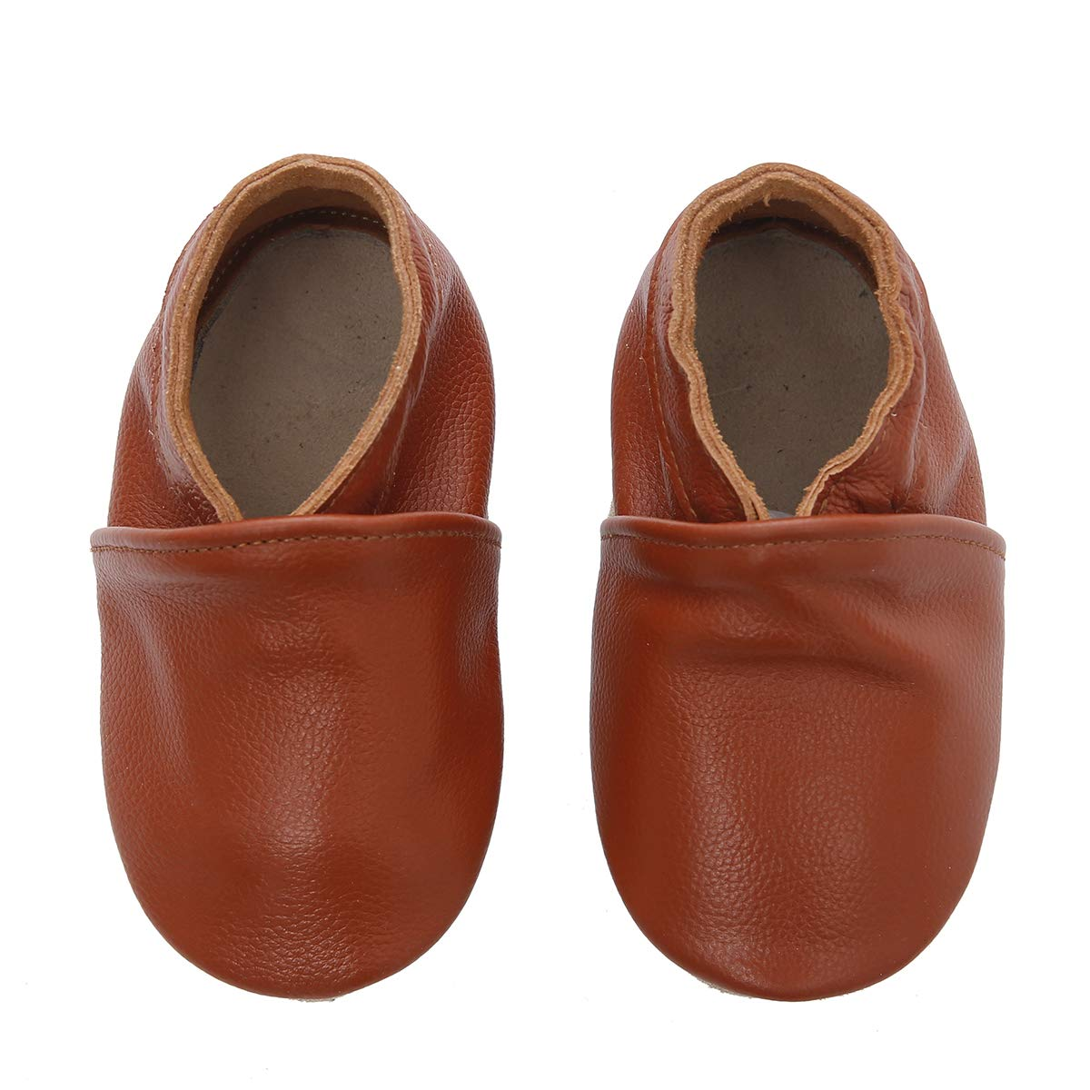 First Walker Leather Baby Shoes with Soft Soles Toddler Moccasins
