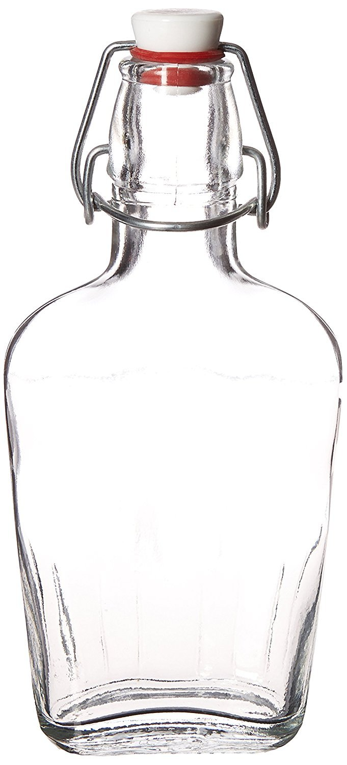 Bormioli Rocco Fiaschetta Glass 8.5 Ounce Pocket Flask, Set of 12 by Bormioli Rocco (Image #1)