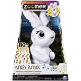 Zoomer SPIN-44085 Hungry Bunny Interactive Rabbit, Assorted Colours, 6044085, Various