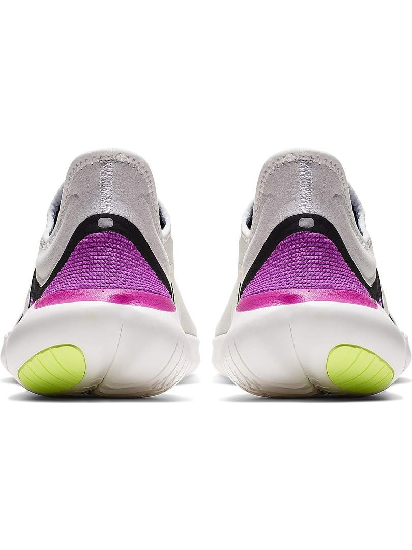 Nike Men's Free RN 5.0 Running Shoes (7.5, White/Volt) by Nike (Image #5)