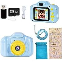 Ibello Cámara Digital para niños con Tarjeta Micro SD 32 GB Cámara de Fotos para niños 1080P Cámara Fotos Infantil…