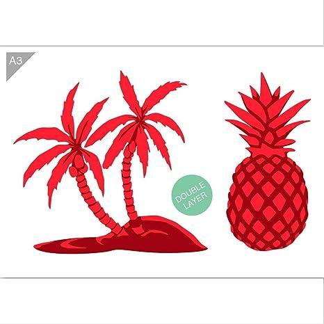 Card making Craft Stencil Airbrush Stencil Pineapple stencil