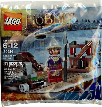 LEGO The HOBBIT The Desolation Of Smaug Lake-Town Guard Set 31 Pieces # 30216