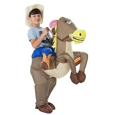 TOLOCO Disfraz inflable de dinosaurio T-Rex, disfraces de ...