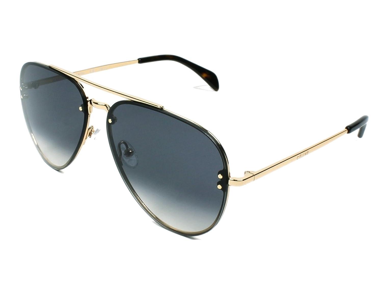 Céline J5G 58W2 Gafas de Sol, Gold/Grey Gradient, 58 Unisex