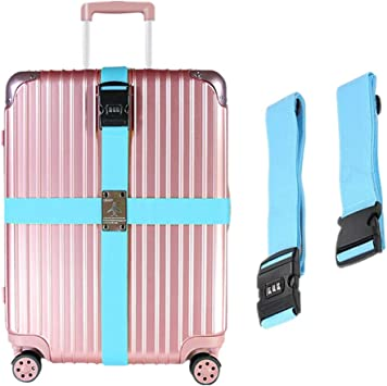 Luggage Suitcase Strap With Combination Lock