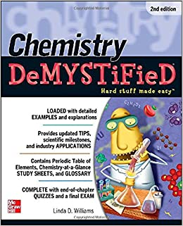Book Chemistry DeMYSTiFieD, Second Edition