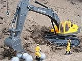 Brigamo - Excavadora oruga RC teledirigida con licencia Volvo original
