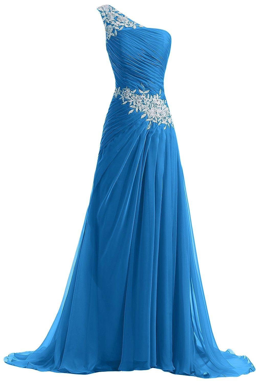 Amazon.com: Sunvary Designer Chiffon and Applique Bridesmaid Dress ...