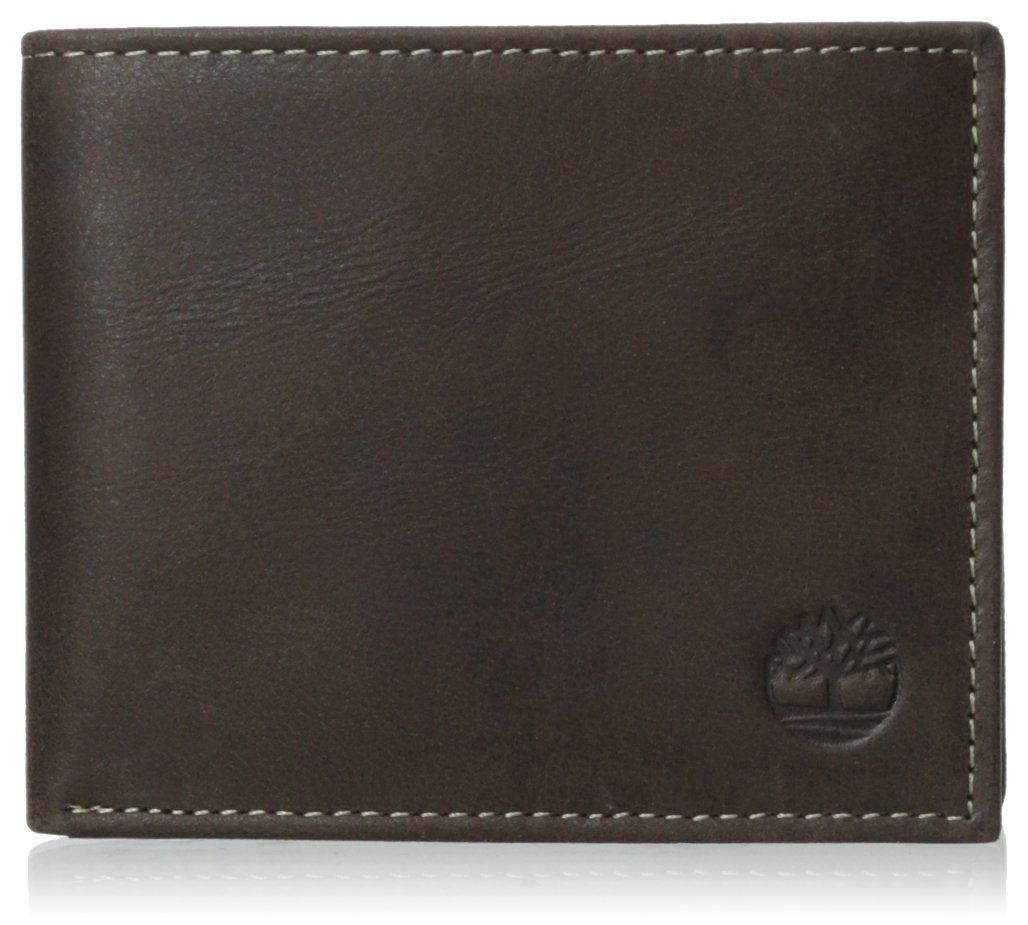 Timberland Men's Cloudy Passcase, Brown, One Size