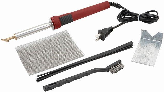80 Watt Iron Plastic Automotive Welder Welding Kit w// Welding TPO TEO PP Bumper