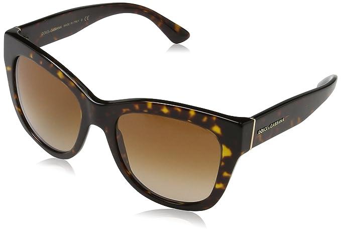 Dolce & Gabbana 0Dg4270, Gafas de Sol para Mujer, Marrón ...