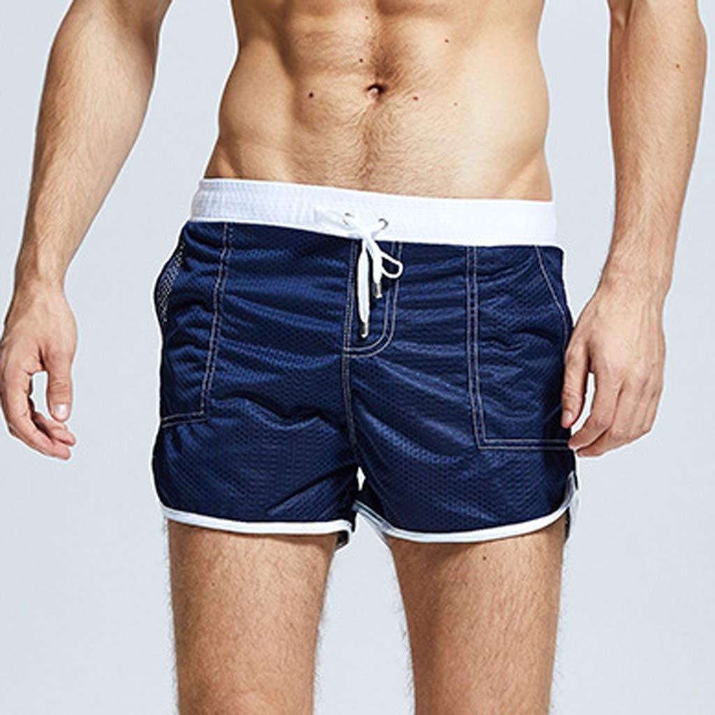 OPAKY Pantalones Cortos para Nadar en la Playa Pantalones Cortos ...