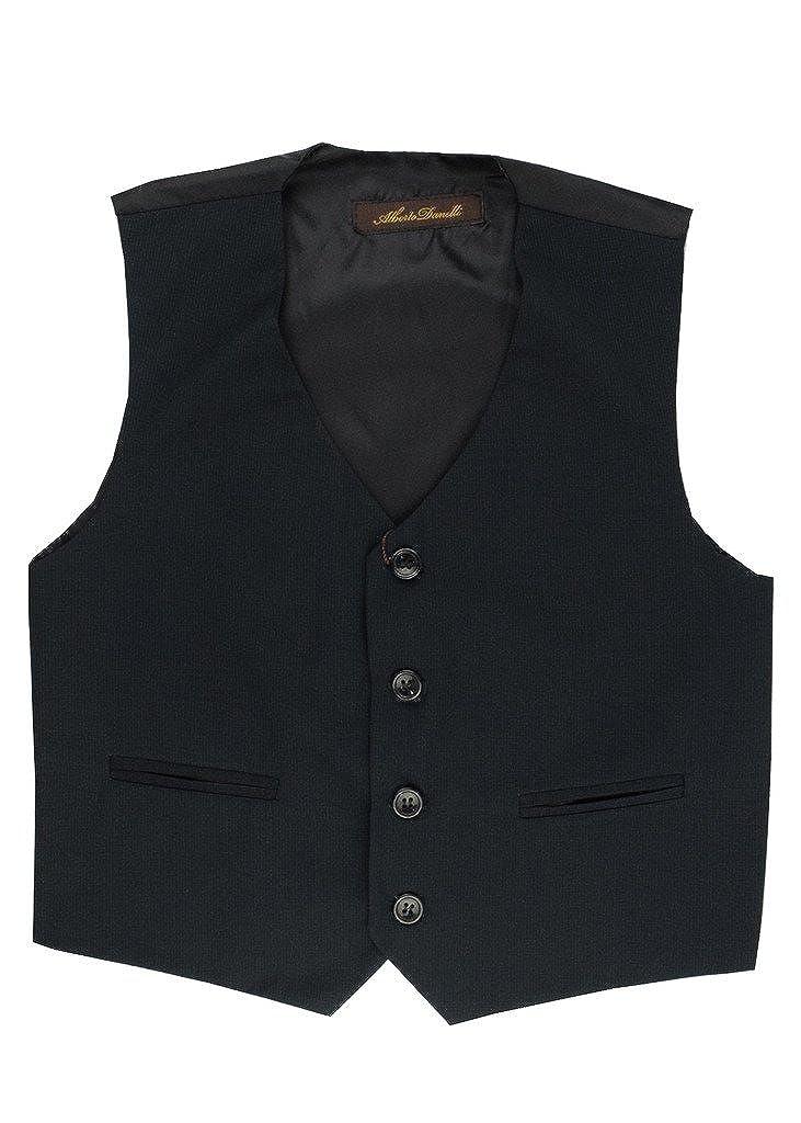 Alberto Danelli Boys 4 Button Formal Vest Suit Set