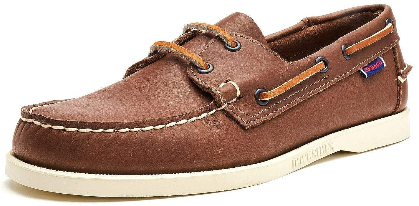 SEBAGO Docksides FGL Mocasín & Zapatos náuticos Hommes Marrón Zapatos náuticos