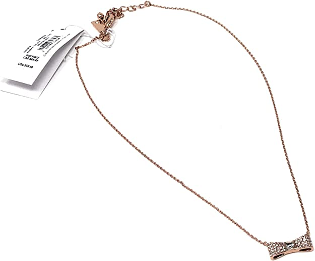 Simple Rose Gold Bow Choker