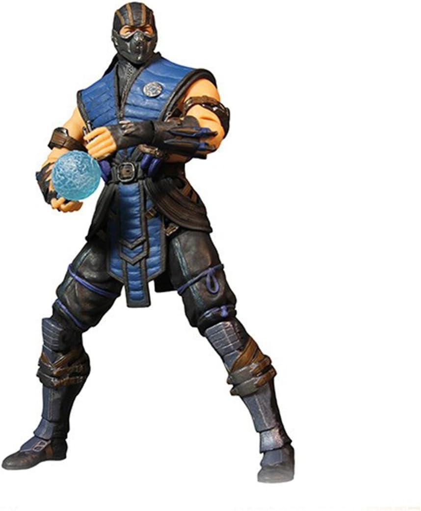 Amazon Com Mortal Kombat Mezco X Sub Zero 4 Inch Action Figure
