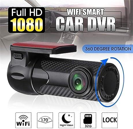 Hidden Wifi Car DVR Dual Lens Dash Camera 1080P HD Video Recorder Night Vision