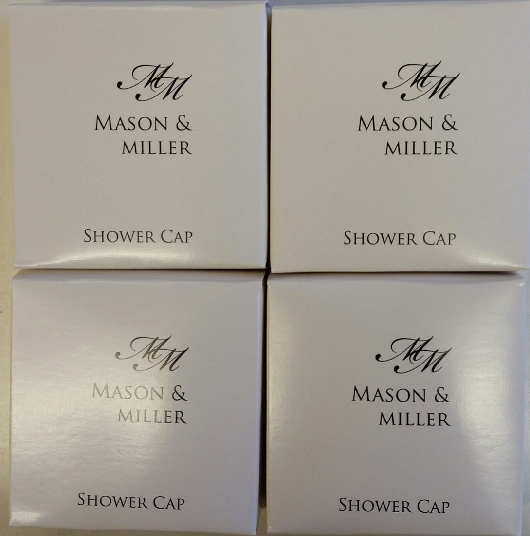 10 x Mason & Miller Single Shower Caps