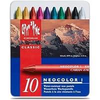 Caran D'Ache Giz Pastel Oleoso Neocolor I 10 Cores