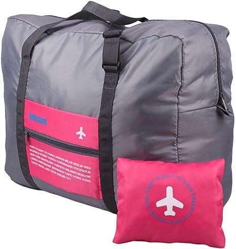 Viaje bolsa de almacenamiento plegable organizador de equipaje ...